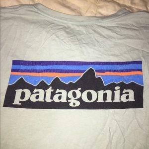 Patagonia Logo Short Sleeve